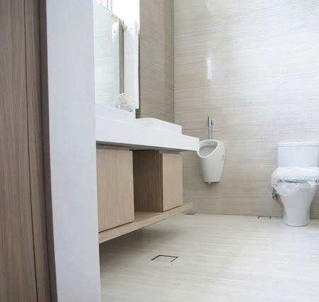 Bathroom Flooring, Dumafloor Laminated Flooring
